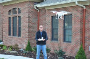 Michael McCord, FAA-Licensed Drone Pilot and Owner of Fredericksburg Aerial Drone Photography
