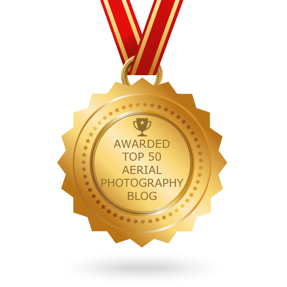 Fredericksburg Aerial Drone Photography has been Awarded Top 50 Aerial Photography Blog